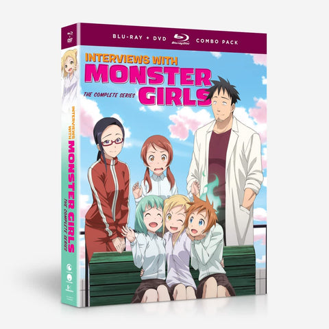 Interviews with Monster Girls - The Complete Series - BD/DVD Combo DVD (Pre-Order)