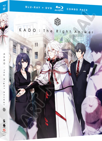 KADO: The Right Answer - The Complete Series - BD/DVD Combo (Pre-Order)