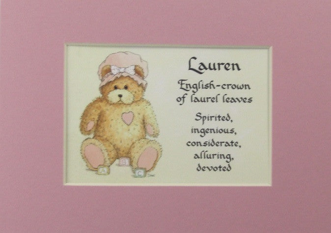 Baby name girl meaning 5x7 matted gift mcdarlins mcdarlins baby name girl meaning 5x7 matted gift mcdarlins negle Gallery
