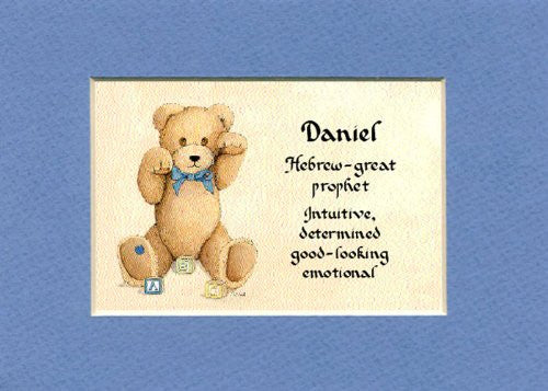 Baby name meaning for boy matted 5x7 gift mcdarlins mcwags baby name meaning for boy matted 5x7 gift negle Choice Image