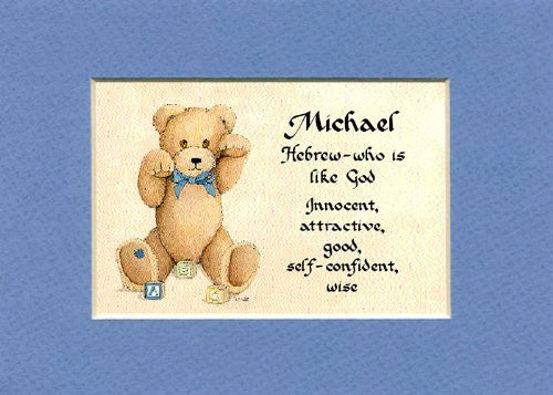 Baby name meaning for boy matted 5x7 gift mcdarlins mcwags baby name meaning for boy matted 5x7 gift negle Gallery