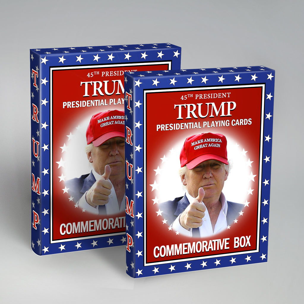 Original Trump Playing Cards Presidential 2 Pack • 25% Off
