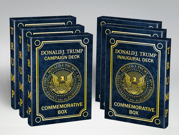 NEW Trump Playing Cards Campaign & Inaugural 6 pack • 33% off