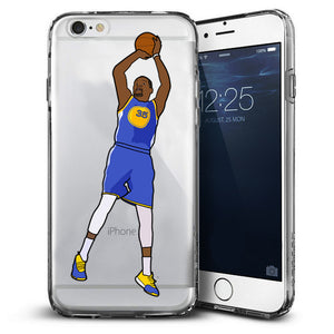 """KD"" Clear iPhone Case"