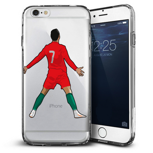 """The Hero"" Clear iPhone Case"