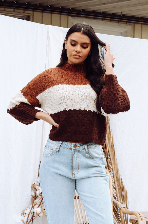 FEIGN KNIT TOP