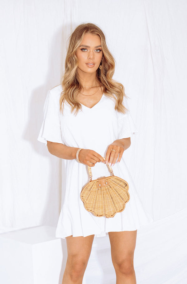 RYDER DRESS WHITE