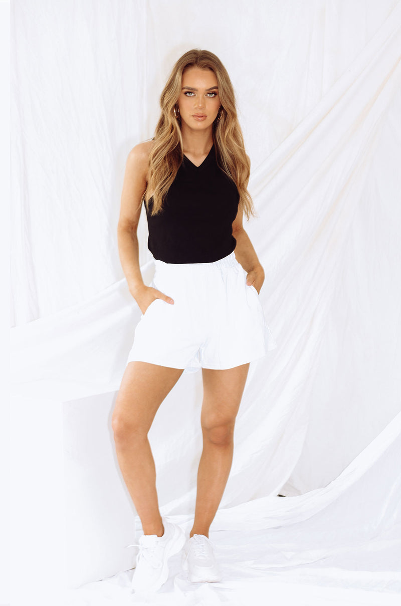 Elliot Shorts - White