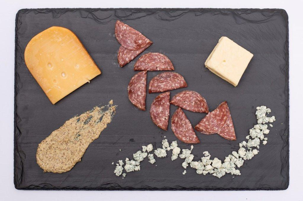 "Cheese & Serving Board - 12"" x 18"" - SlatePlate"