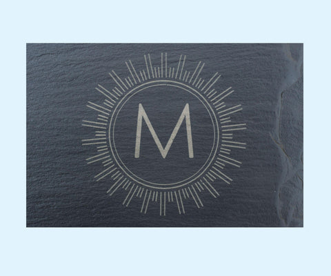 Monogram 2 Engraving and Slate Purchase