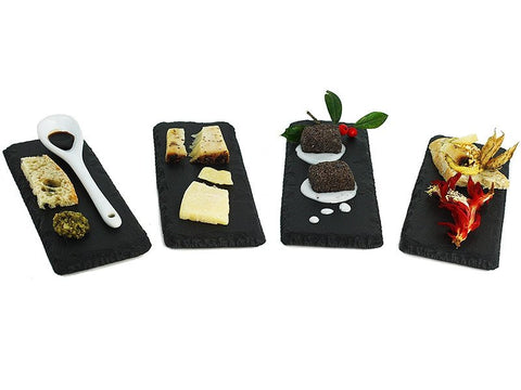 "L'Amuse Bouche Slate (Set of 4) - 2"" x 6"" - SlatePlate"