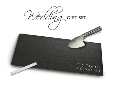 Wedding/Anniversary Gift Set - SlatePlate