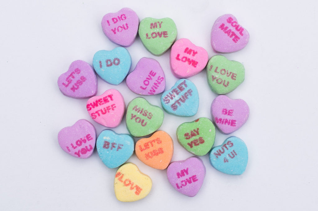 Personalized Candy Heart