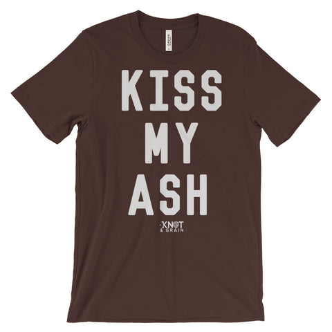KISS MY ASH Unisex short sleeve t-shirt