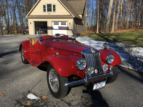 FOR SALE:  Award winning 1954 MGTF