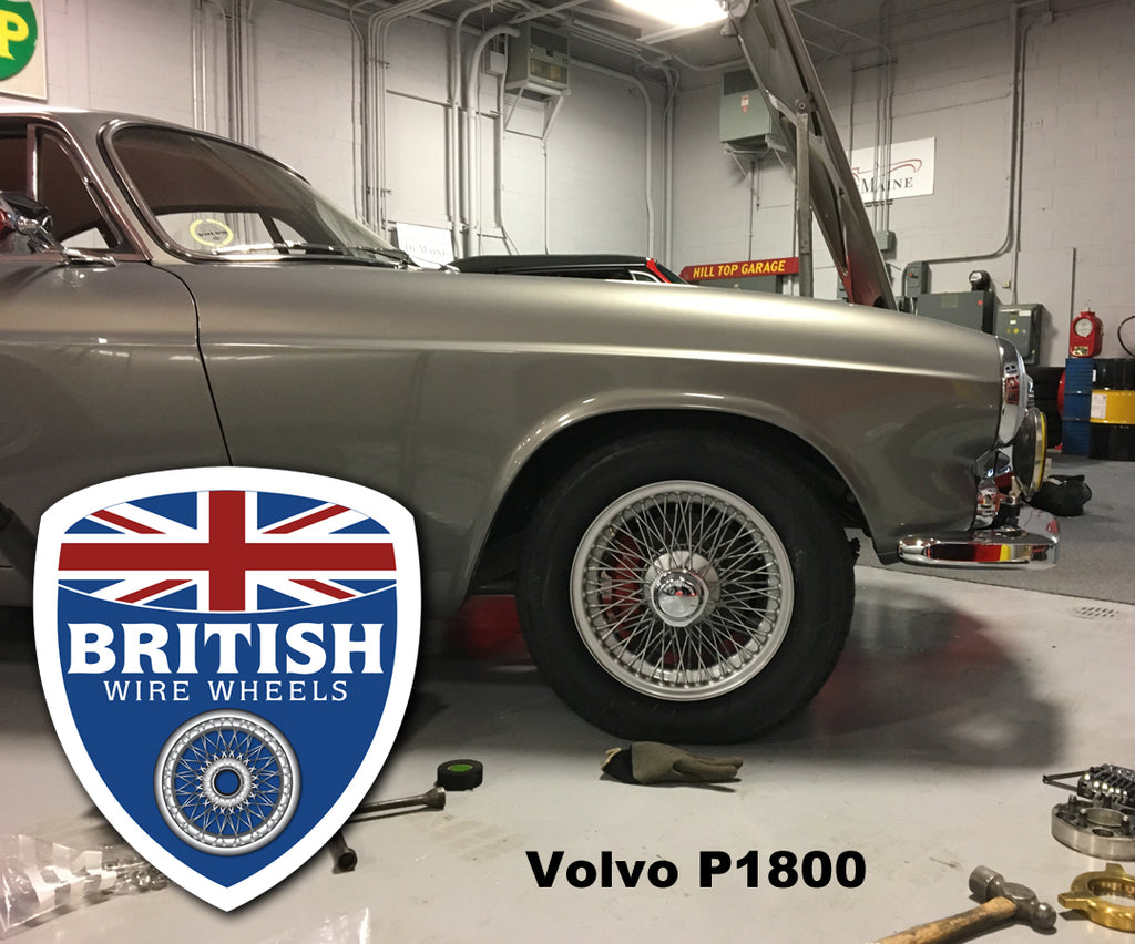 NEW PRODUCT: Volvo p1800 and 1800s Wire Wheel Conversion Kit