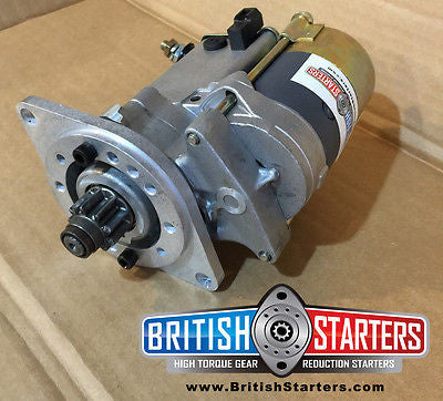 Morgan Plus 4 TR3b TR4 Drivetrain High Torque Gear Reduction Starter moss motors Morgan spares