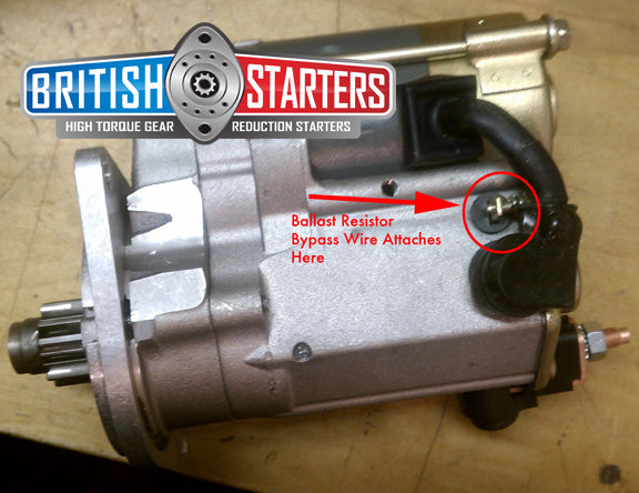 Triumph Vitesse High Torque Gear Reduction Starter Moss Motors