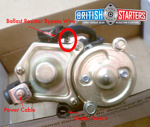 Amphicar High Torque Gear Reduction Starter