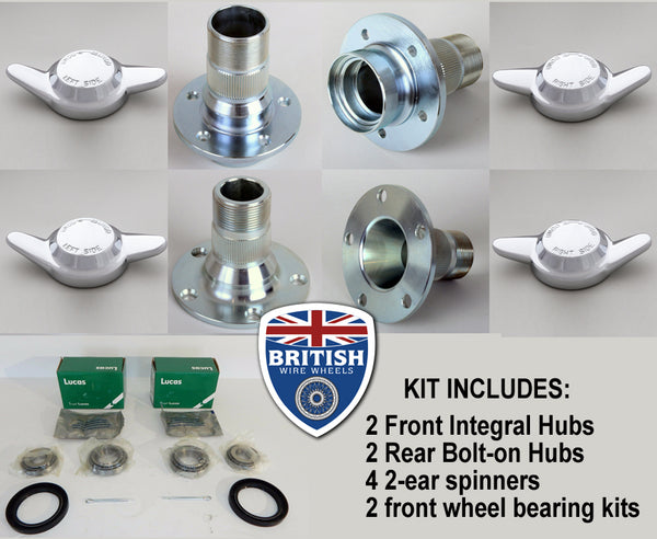 Austin Healey 3000 Splined Hub Kit