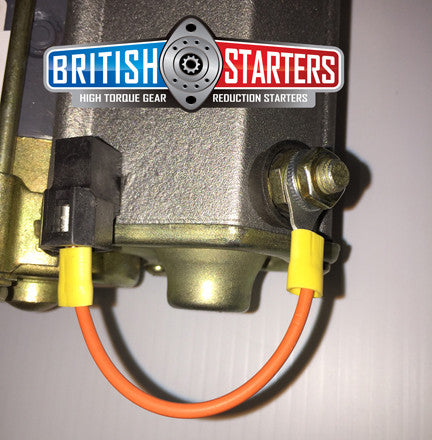 Morgan Plus 4 TR2 TR3 Drivetrain High Torque Gear Reduction Starter moss motors Morgan spares
