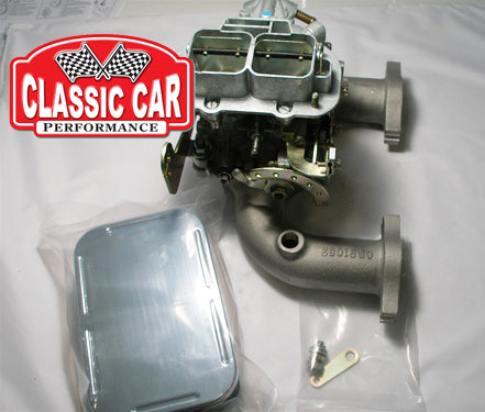 MGA MGB -  32/36 DGV Weber Carb Conversion Kit - Manual Choke