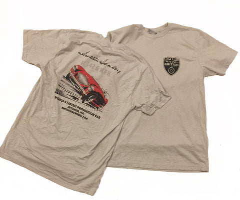 Austin Healey Bonneville Record T-Shirt