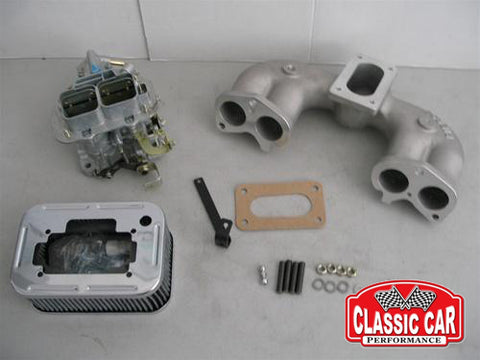 Land Rover Series - 2.25L Weber Carb Conversion Kit