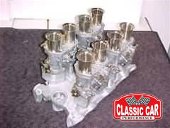 Rover V8 Weber Carburetor Kit - 40 IDF Carbs