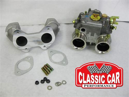 Triumph Spitfire - 40 DCOE Weber Carb Conversion Kit   (2 Port Head)