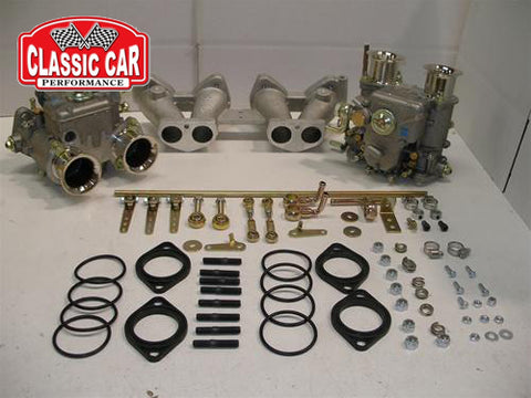 Triumph Spitfire - Twin 40 DCOE Weber Carb Conversion Kit  (4 Port Head)