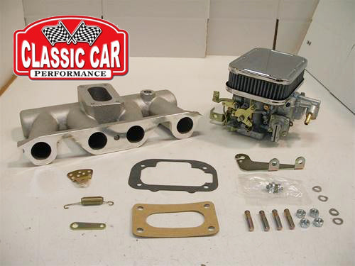 Sunbeam Alpine Weber Carb Conversion Kit - 32/36 DGV