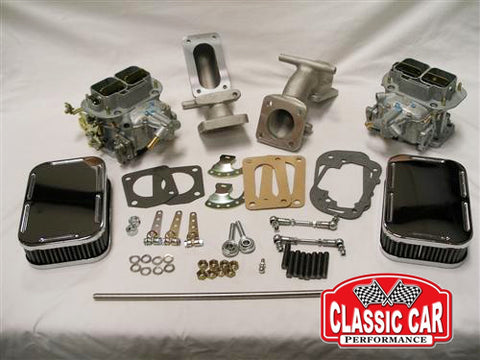 Triumph TR2 TR3 TR3b TR4 - Weber 32/36 DGV Carb Conversion Kit