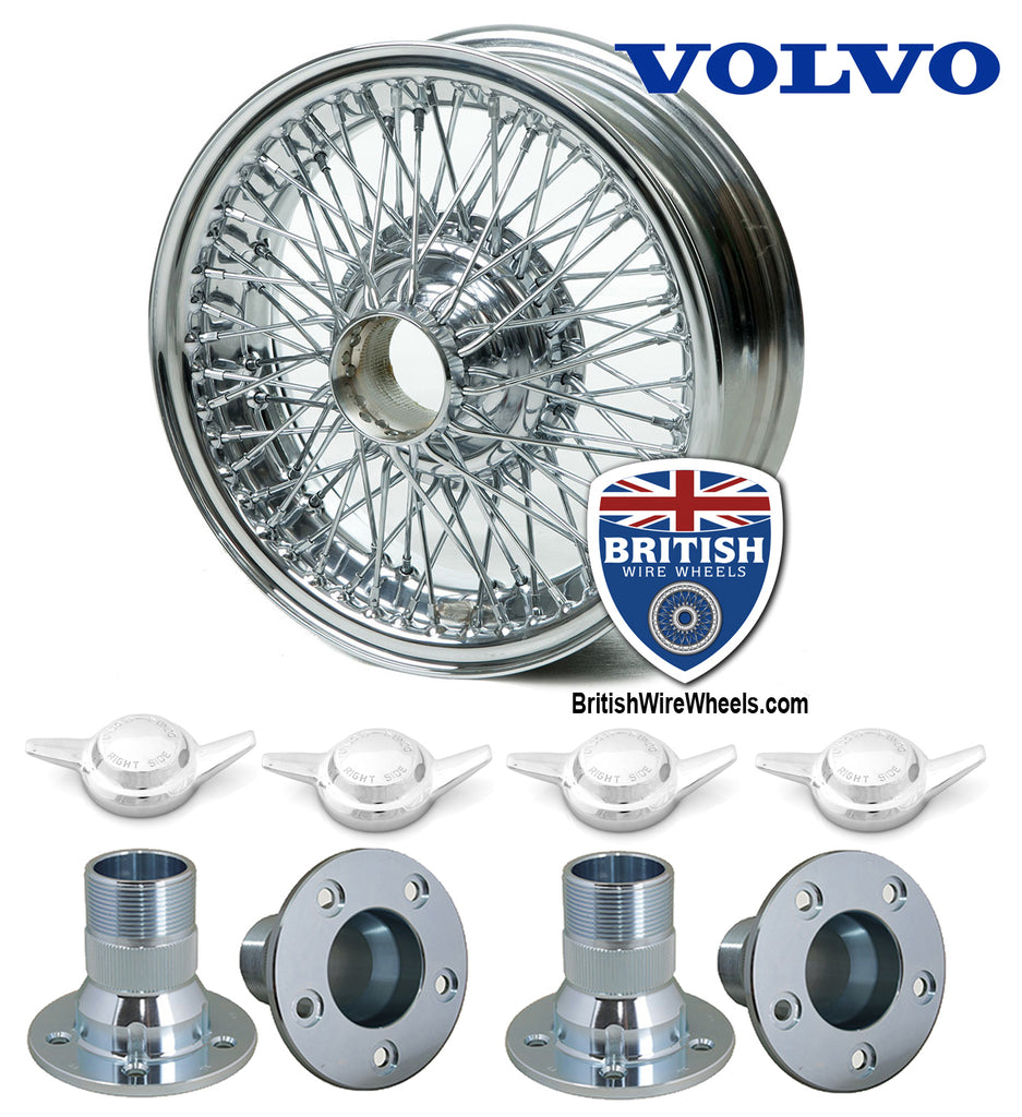 Volvo P1800 - Wire Wheel Conversion Kit