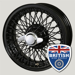 Moss Motors Dayton Dunlop MWS Austin Healey MG Morgan Triumph 15x4.5 60 Spoke Chrome TUBELESS British Wire Wheels