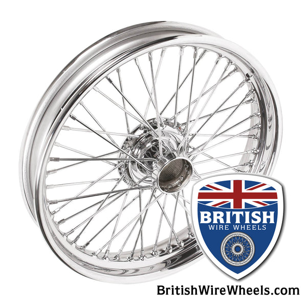 MG J1 J2 J3 J4 Wire Wheel Chrome Moss Motors MWS Dayton Dunlop