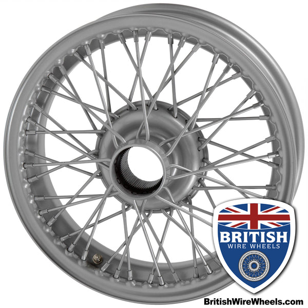 "MGB & MGB GT - 14""x 4.5""  72 Spoke Chrome Tubeless"