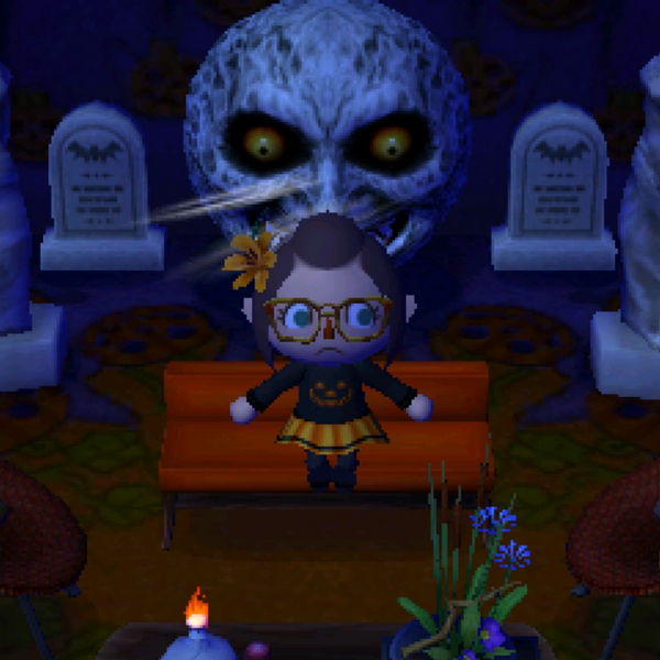 My Majora's Mask Themed Room In Animal Crossing New Leaf