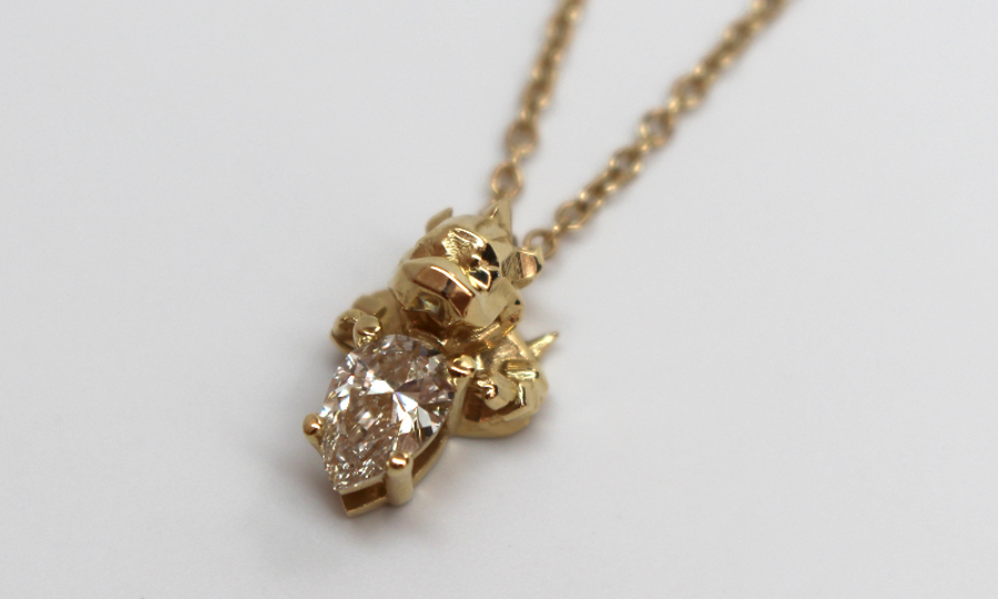 these diamonds appear very light yellow brown or gray theyre actually hard to find because there is such little demand for diamonds of these color