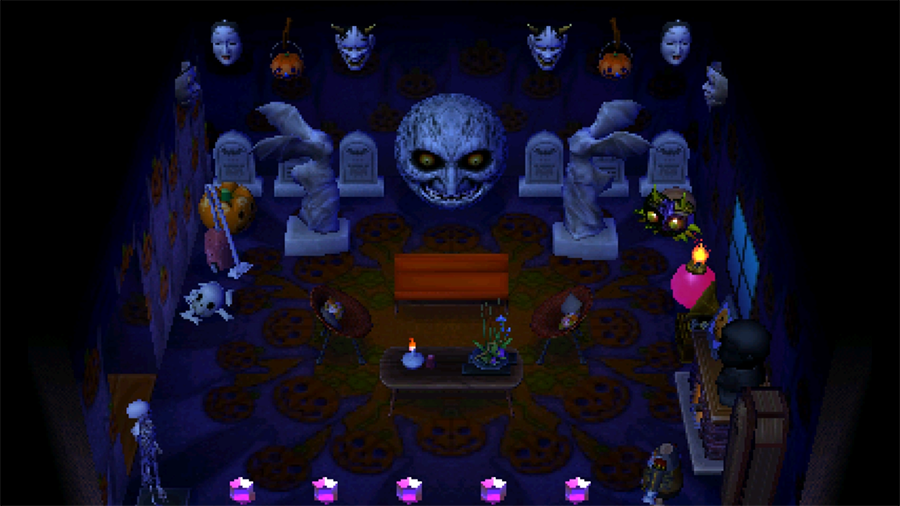 My Majora's Mask Themed Room In Animal Crossing New Leaf – Soulbound