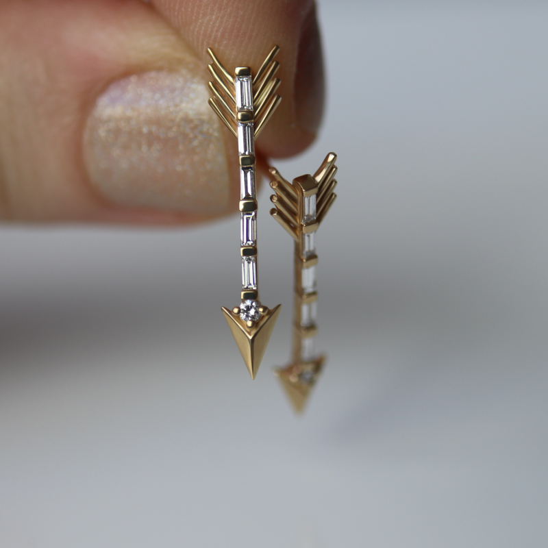 Trueshot Earrings