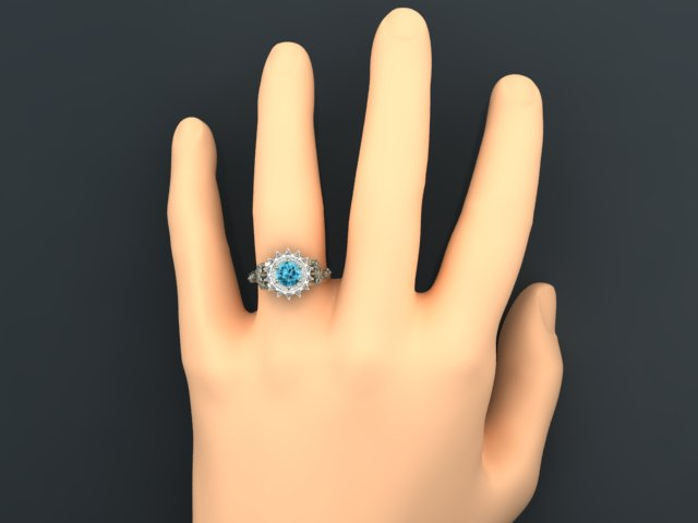 Emily's Custom Bioshock Engagement Ring