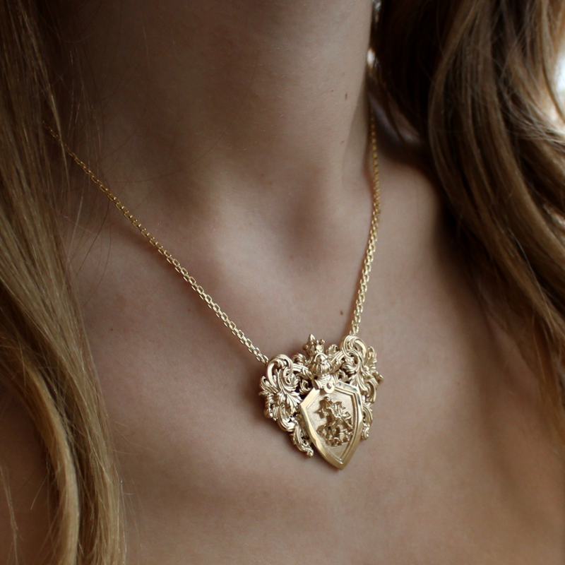 Coat of Arms Necklace