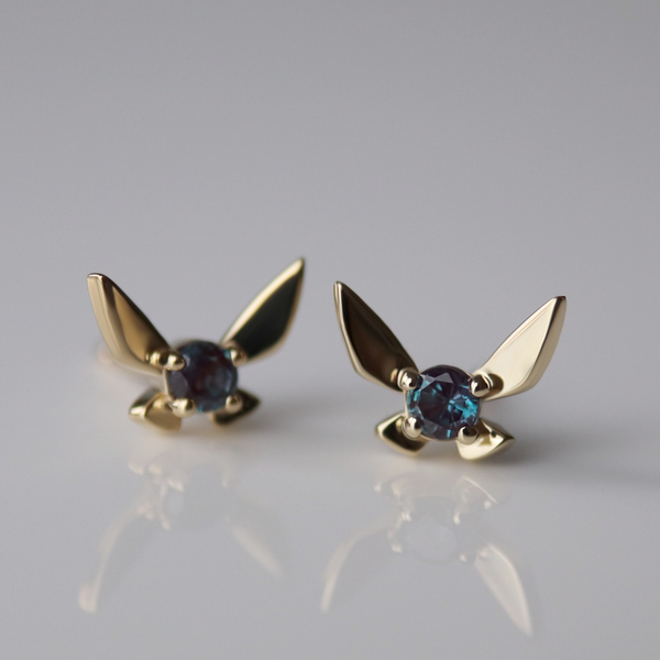 Custom Fairy Companion Studs