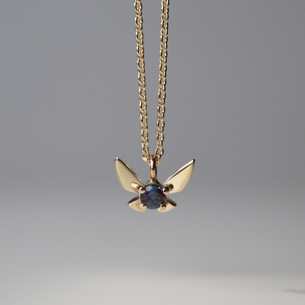 Fairy Companion Necklace, Alexandrite