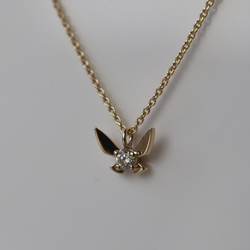 Fairy Companion Necklace, Diamond