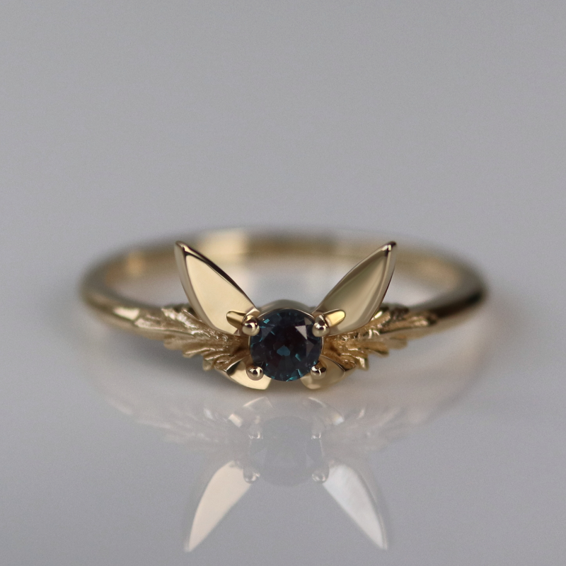 Fairy Companion Ring, Alexandrite