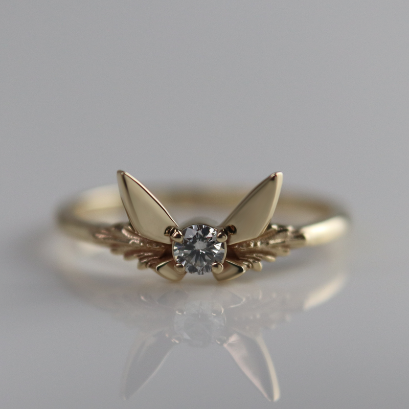 Fairy Companion Ring, Diamond