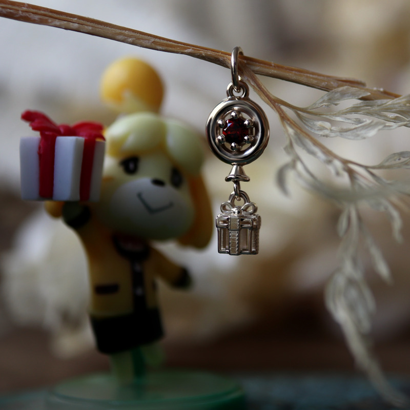 Custom Balloon Present Charm