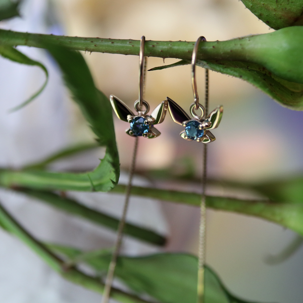 Fairy Companion Threaders, Blue Topaz
